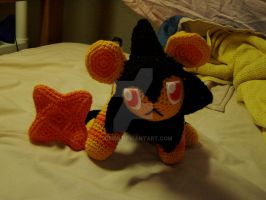 Crochet Shiney Luxio Plushie by Taikxo
