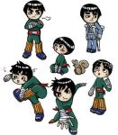 an attack of Lee chibis- color by gummypocky