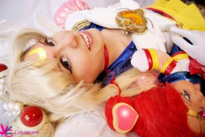 E. Sailor Moon por Linamoon by Yunnale