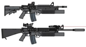 M4A1 and M16A4 compared by lemmonade
