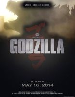 Konack1 - Godzilla Movie Poster (Fan made) by Konack1