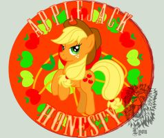 Applejack- The Element of Honesty by TheDocRoach