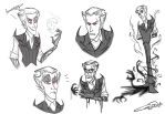 Nightmare Wilson Sketches by CallingToTheNight