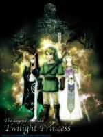 Twilight Princess Poster by Mexican51