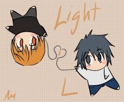 Light x L by Aidiki-chan