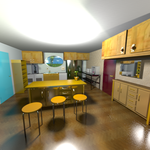 House 3B kitchen by crispexmobile