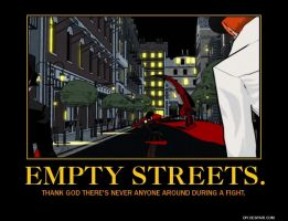Empty Streets Poster by Overlordflinx