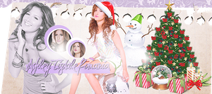 Ashley Tisdale Banner by Lex-Bree