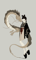 New Year of the Dragon by elisegahara