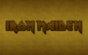 Iron Maiden - metal logo by croatian-crusader