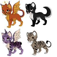 Adoptables by Pazuzu54