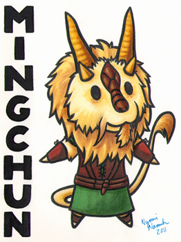 Ridicudorable Mingchun Badge by MaryCapaldi