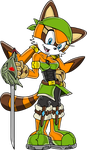 Sonic: End - Marine the Raccoon by STEhq