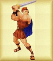 Hercules in Grecian style by GreenFairyHime