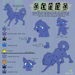 Stars Ref Sheet by YooMe