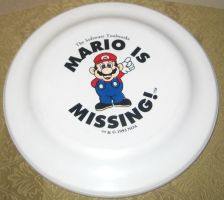 Mario is Missing Promo Frisbee by avaneshop