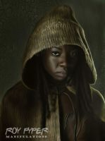The Walking Dead: Michonne: Anisotropic (Ver.2) by nerdboy69