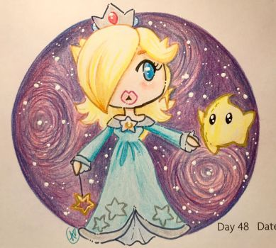 Day 48: One Bright Star by LaPetitLapearl