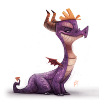 DAY 500. Spyro by Cryptid-Creations