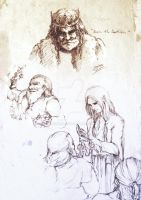 Sil : Elves and Dwarves of Beleriand by noei1984