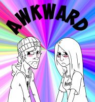 AWKWARD!!! by Raph13th