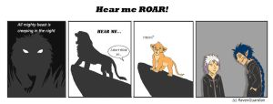Day 4: Hear me ROAR! by RavenGuardian13