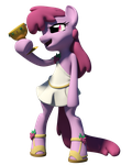 Berry Punch 3D Render by Clawed-Nyasu