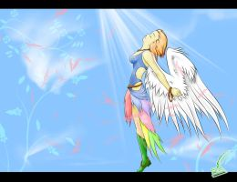 Spring Angel by Thaylien