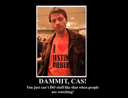 Goddammit, Cas! by AuroraBlix