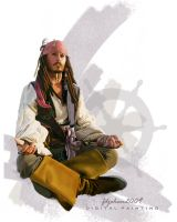 Captain Jack Sparrow by Fdjohan19