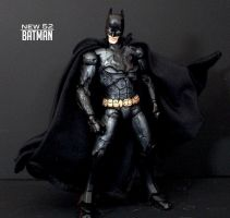 New 52 - Black Batman custom figure Jim Lee by SomethingGerman