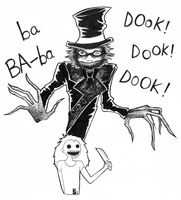 The Babadook by Yuett