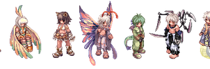 Ro sprite monster-character by Aophrodite