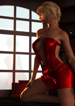 Red Dress by barba22