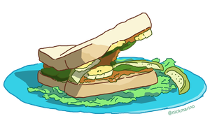 The Sandwich in 'Muppets from Space' by nickmarino