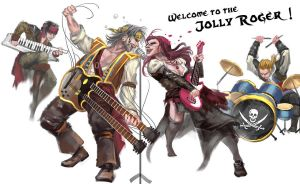 Band of  Jolly Roger by sunsetagain