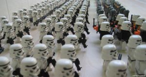Lego Galactic Empire I by franklando