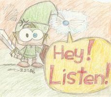 link and navi- HEY LISTEN by kd99