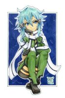 05 - Sinon / Sword Art Online II by WojikHell