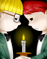 M2EB_Feelings at candlelight by Chivi-chivik