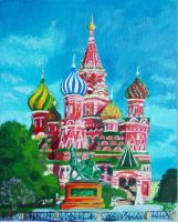 St Basil Cathedral by Kristaletti