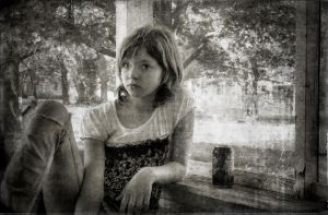An Antiquely Modern Girl by colleenchiquita