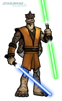 DRAW GENERAL KRELL from THE CLONE WARS by grantgoboom