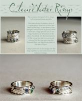 ClearWater Rings by Illahie