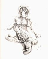 Figure Study - Gesture IX by Something2Behold