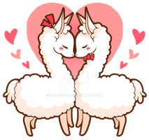 Love Llamas by YamPuff