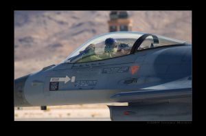 F-16 RNAF Front Office by jdmimages