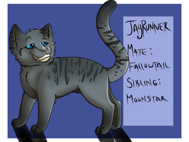 Jayrunner - MoonClan by little-space-ace