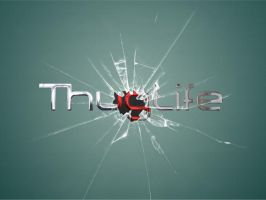 ThugLife glass by curtisblade