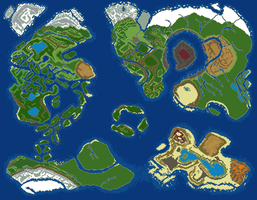 World Map v4 by RaZziraZzi
